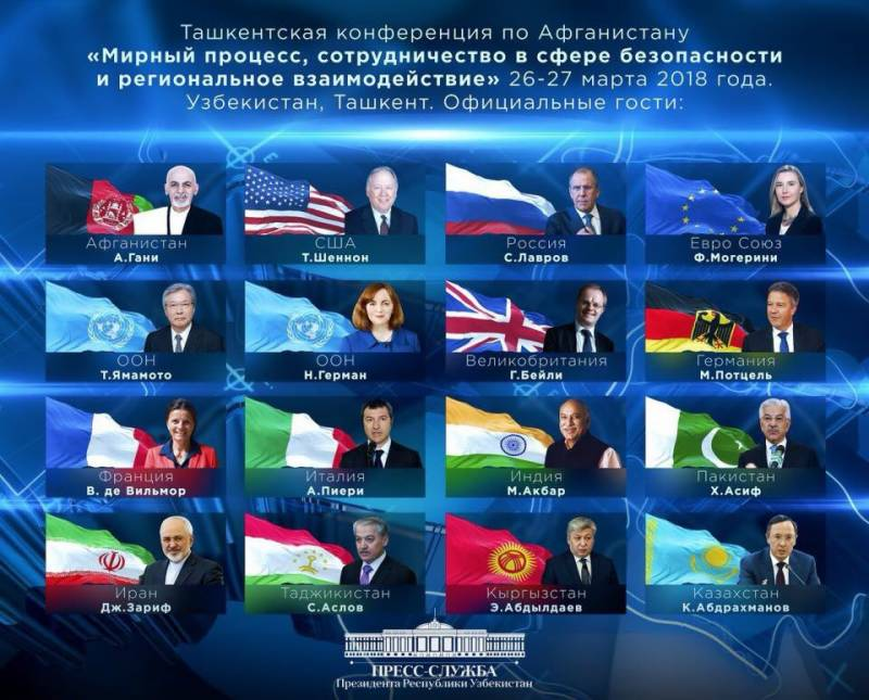 Two-day Tashkent conference on Afghanistan starts from Monday