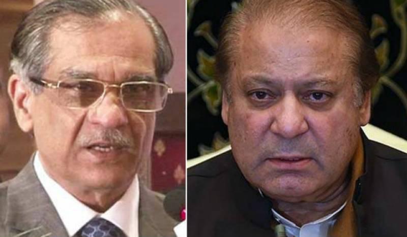 CJP Saqib Nisar dismisses contempt petition against Nawaz Sharif