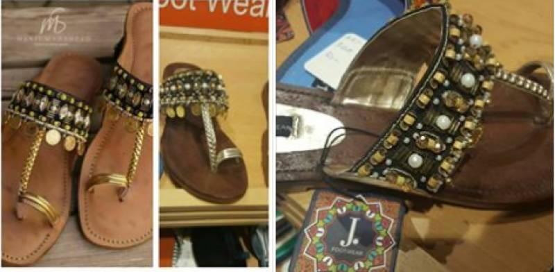 Designer brand accuses Junaid Jamshed footwear of plagiarizing their design