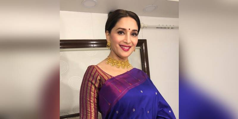 Madhuri Dixit looks sublime in this traditional look