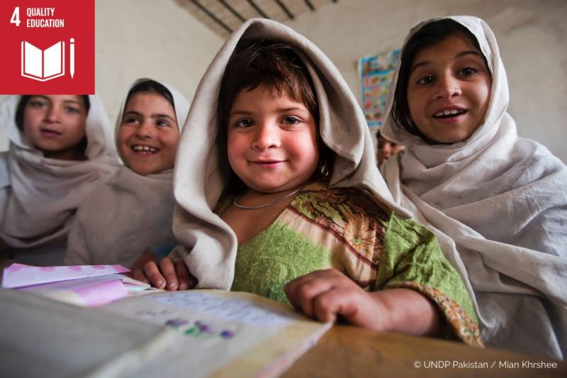 UNSECO depicts Pakistan's optimistic outlook in SDG4