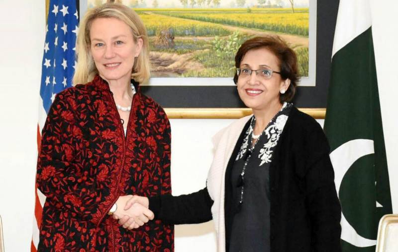 Alice Wells stresses Pak-US close cooperation to achieve common objectives inAfghanistan & region