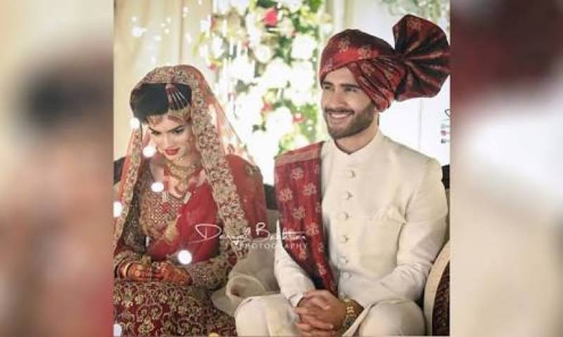 Feroze Khan ties a knot in red, pictures from his wedding ceremony are regal