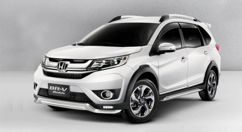 Honda launches BR-V with manual transmission in Pakistan