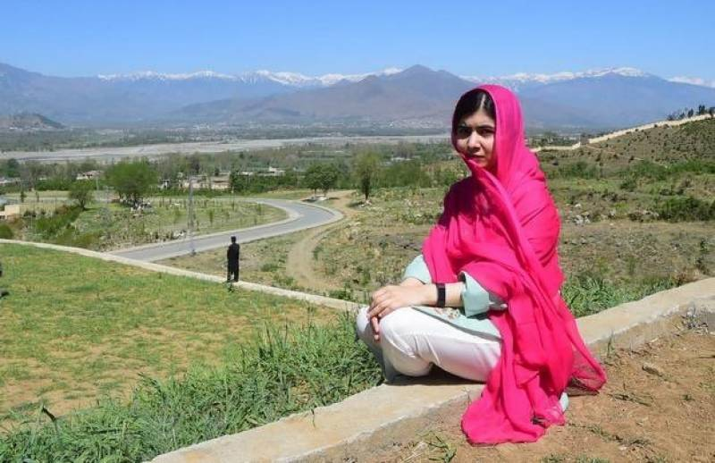 IN PICS: Nobel Peace winner Malala in Swat for the first in 6 years