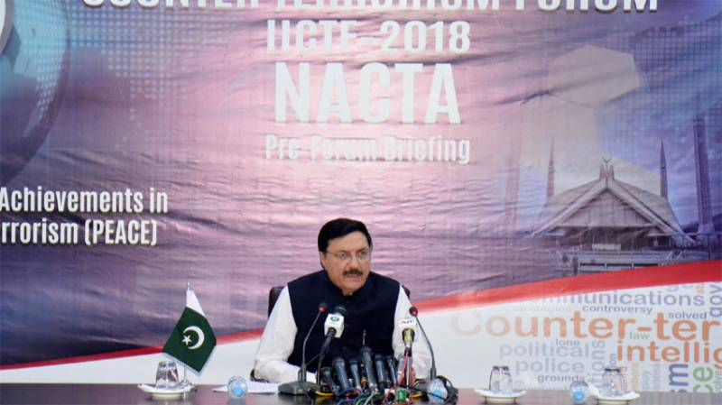IS poses real threat to Pakistan, warns NACTA chief