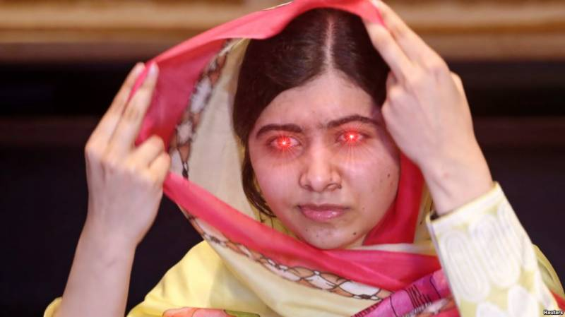 It was not Malala who visited Pakistan this week