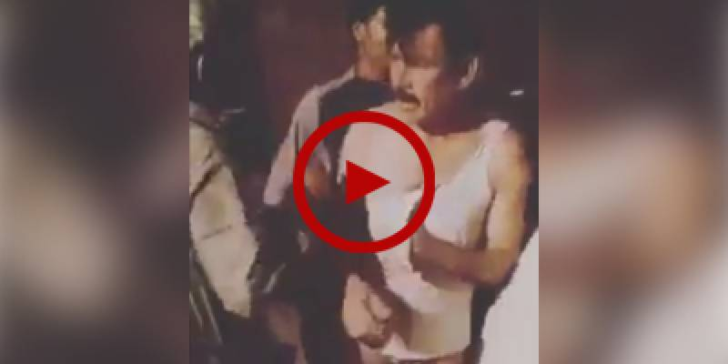 Police official caught on camera trying to molest minor in Rahim Yar Khan