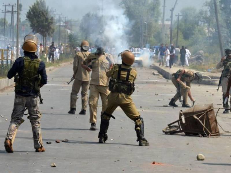 Indian occupation forces martyr 13 Kashmiris