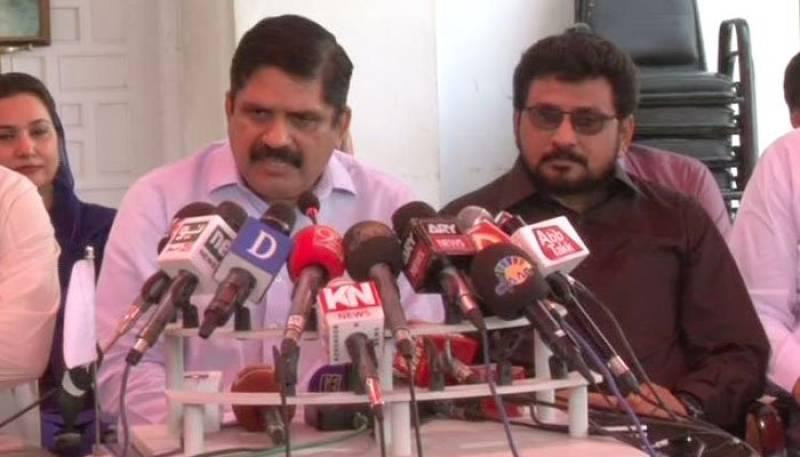 MQM-P MNA Waseem Hussain joins Mustafa Kamal-led PSP