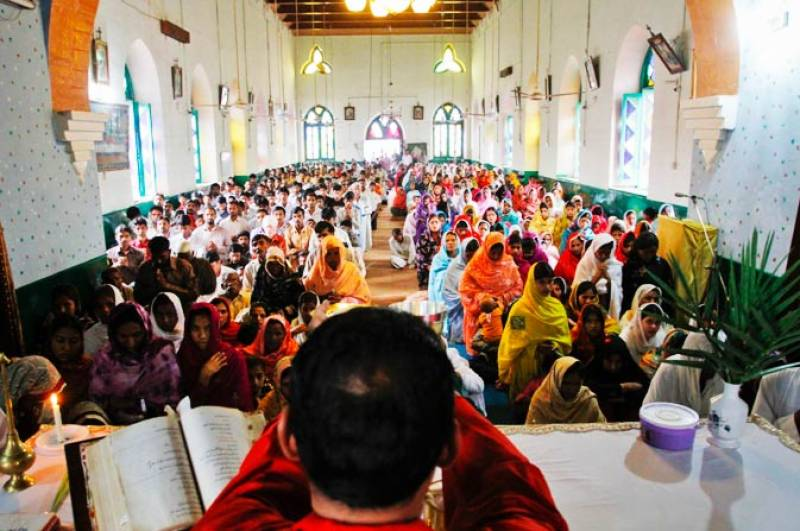 Pakistani Christians celebrate Easter today