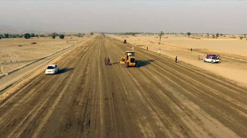 Work on 285km motorway under CPEC to be completed in June2018