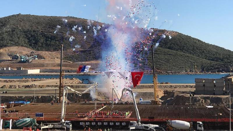Turkey launches first nuclear power plant with Russian help