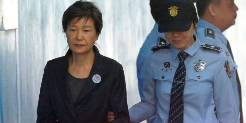 Former South Korean President Park Geun jailed for 24 years over corrupt practices