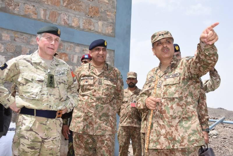 UK top general appreciates Pakistan's efforts against terrorism