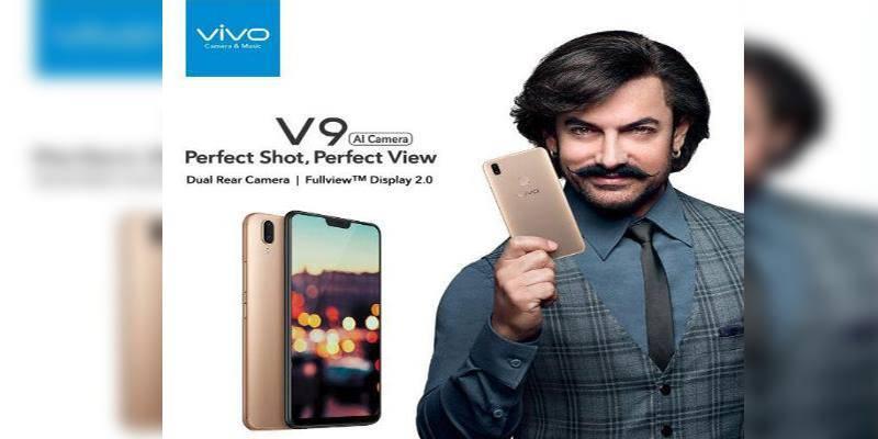 Vivo launches V9 smartphone in Pakistan