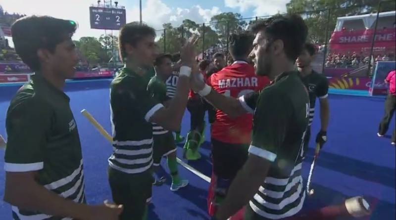 Commonwealth Games 2018: Pakistan hold arch rival India to 2-2 draw in dramatic hockey opener