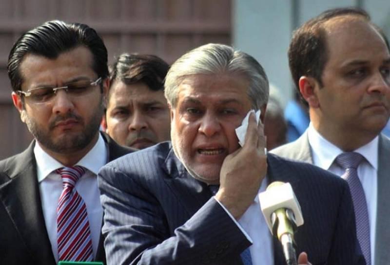 SC dismisses case against Ishaq Dar after compensation of LDA's loss over park restoration