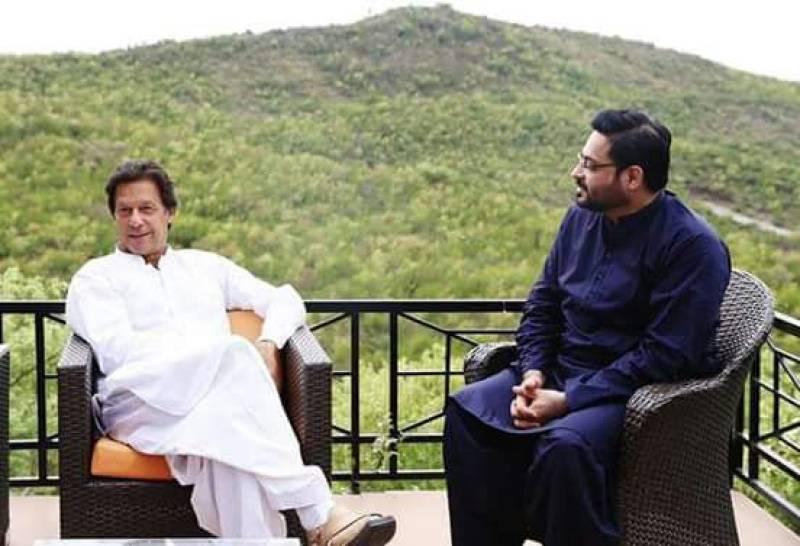 Aamir Liaquat's 'Ishq' for Imran Khan sends social media into a frenzy