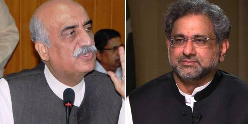 Govt, opposition meet to brainstorm over caretaker setup