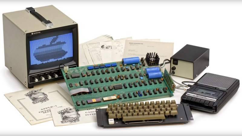 On this day in 1976, Apple launched its first computer
