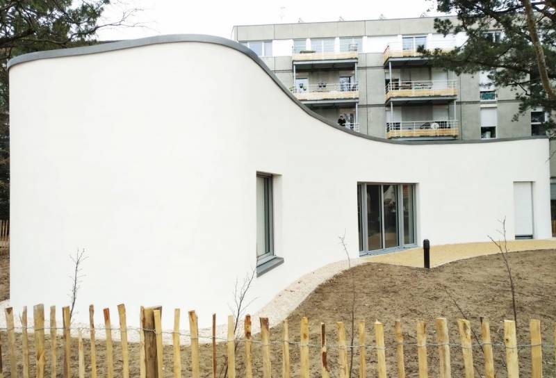 World's first 3D-printed house built in 18 days by a robot