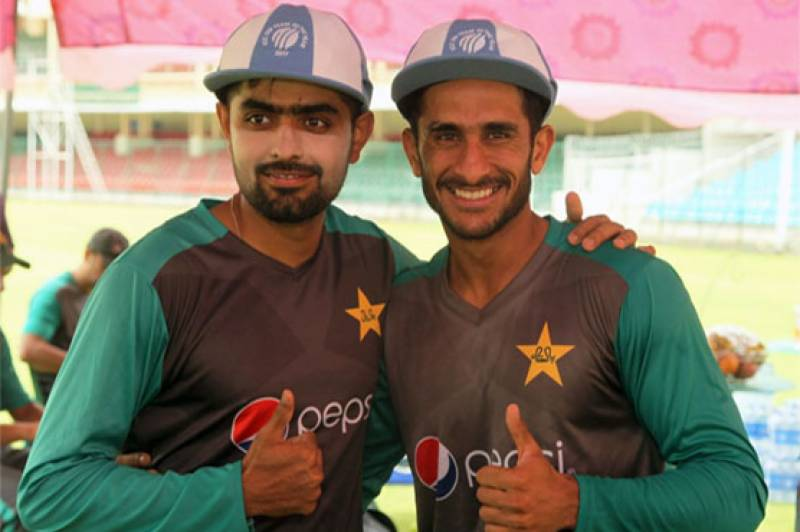 Babar, Hasan honoured for being part of ICC's ODI team