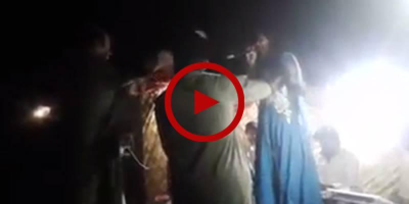 Pregnant singer shot dead on stage in Larkana (VIDEO)