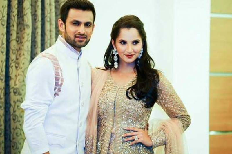 Sania and Shoaib complete eight years of married bliss today