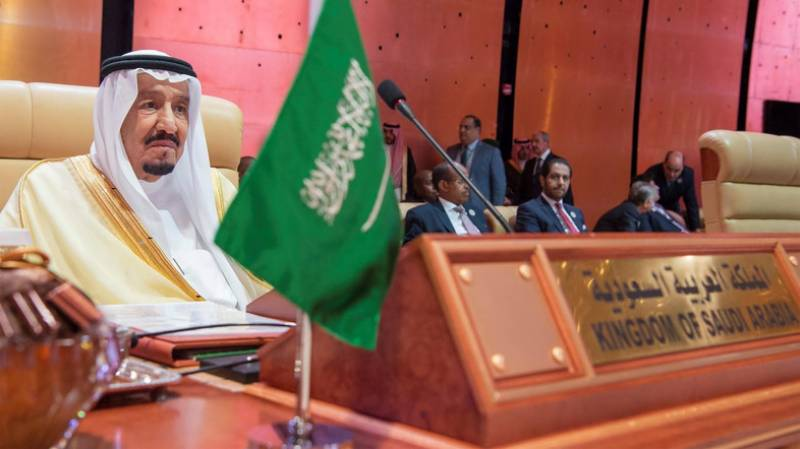 Saudi king Salman lashes out at Iran, decries Trump's Jerusalem bid