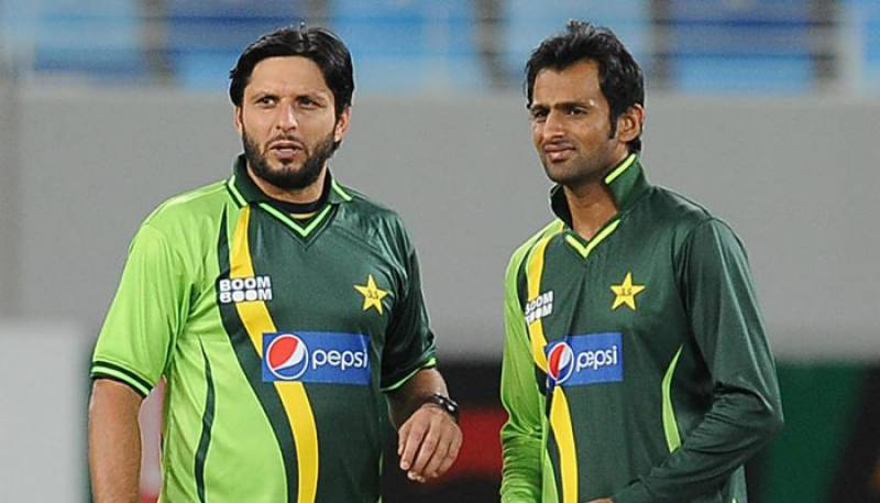 Afridi, Malik confirm participation for ICC World XI against Windies