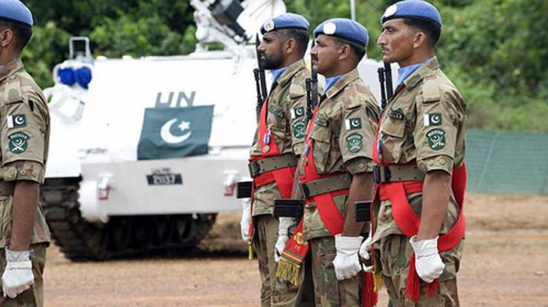Seven Pakistani peacekeepers honoured with UN medals posthumously