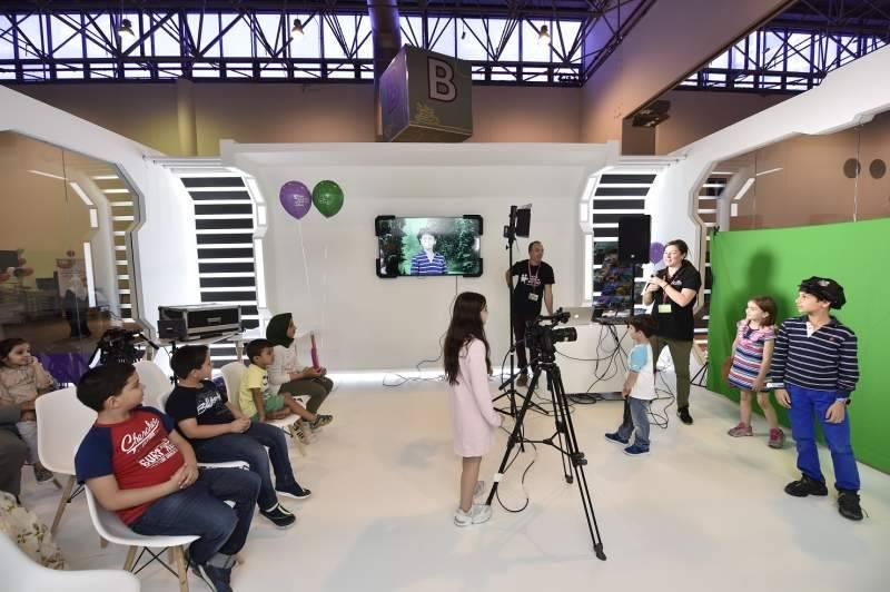 Children transform themselves through filmmaking at Sharjah Children's Reading Festival
