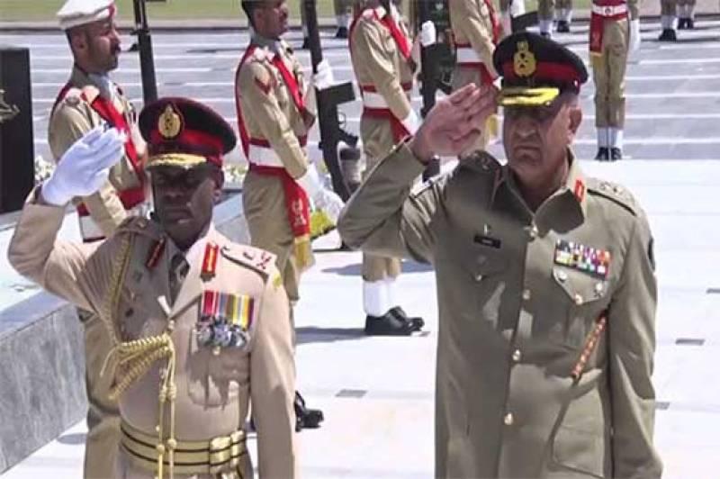 Gen Bajwa, Sri Lankan army chief discuss regional security