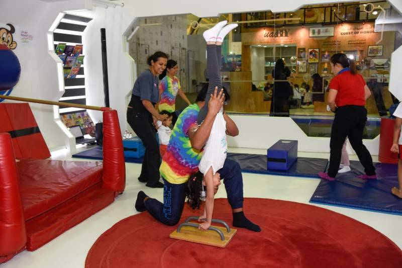 Ninja warriors race against the clock at Sharjah Children's Reading Festival