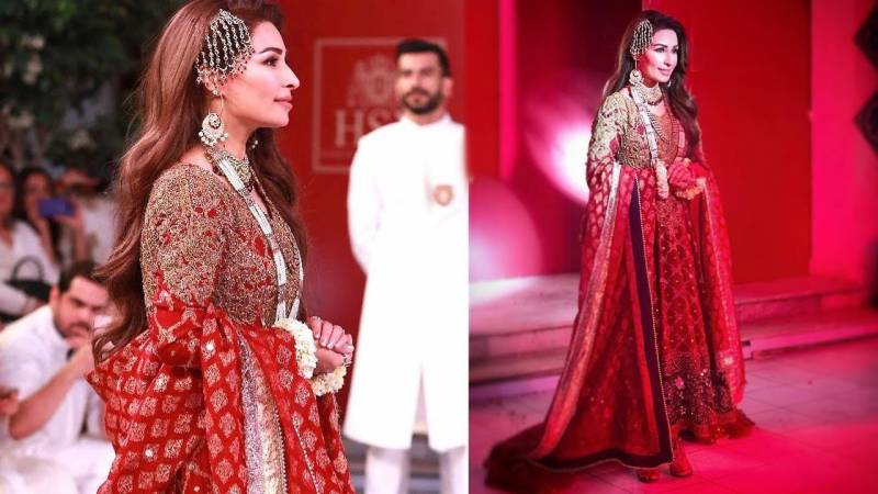 Reema lit the stage on fire as showstopper for HSY