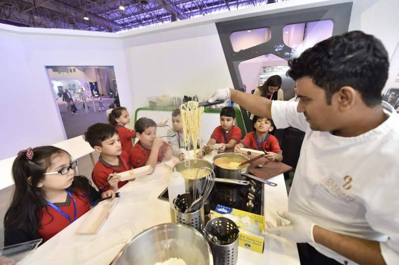 Young chefs in the making at Sharjah Children's Reading Festival