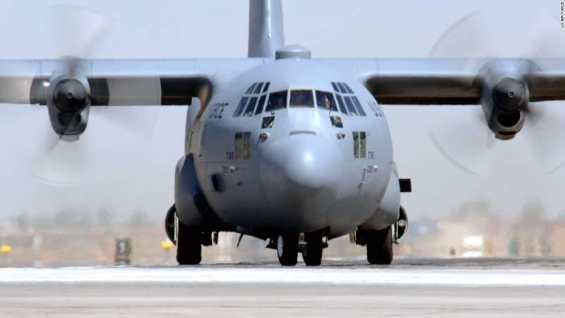 US military plane Hercules C130 crashes in Georgia, 5 killed