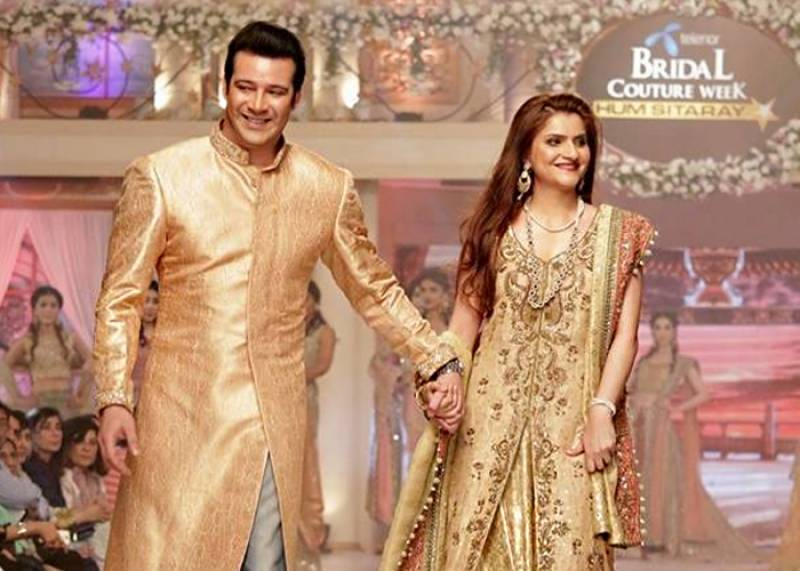 Walking down the memory lane of Moammar Rana and wife's life together