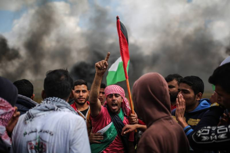 431 Palestinians hurt after Israeli troops fire shots and tear gas