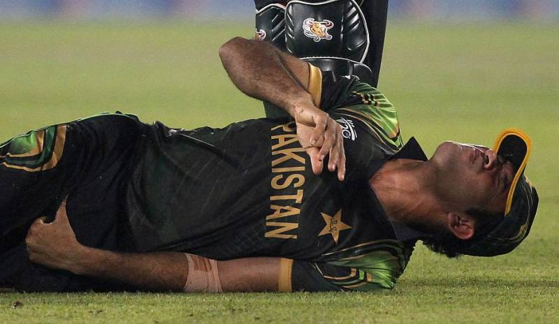 Pakistan Cup: Sohaib Maqsood hospitalised after suffering shoulder injury