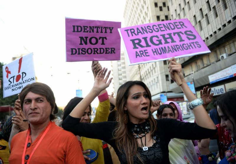 Pakistan adopts transgender persons' protection, acid and burn crime bills