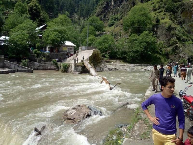 At least 12 tourists killed in Neelum Valley bridge collapse