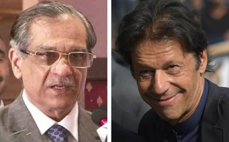 Imran Khan is not our 'Ladla', clarifies CJP