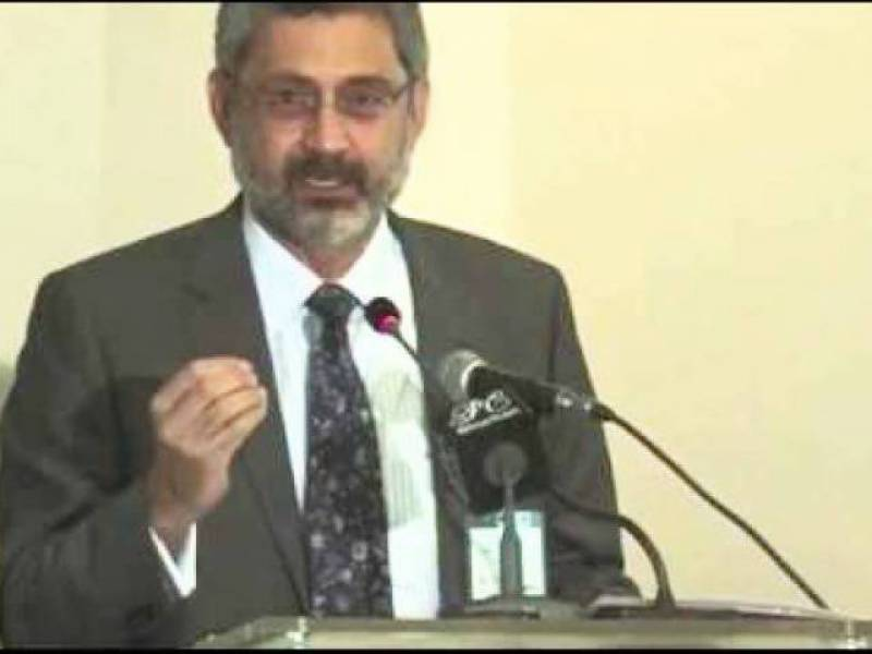 Justice Qazi Faez Isa expresses reservations over reconstitution of bench by CJP