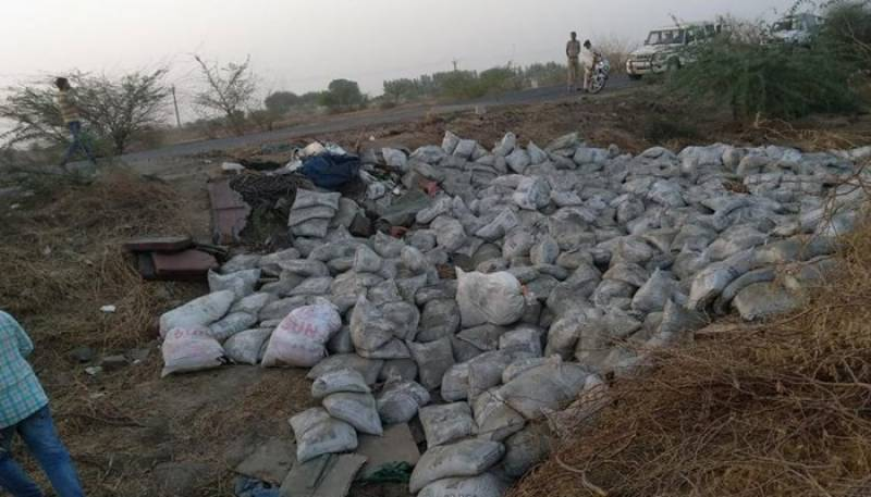 19 dead, six injured as cement-laden truck topples in India
