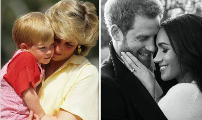 Here's how Prince Harry honoured his mother, Princess Diana at the Royal Wedding