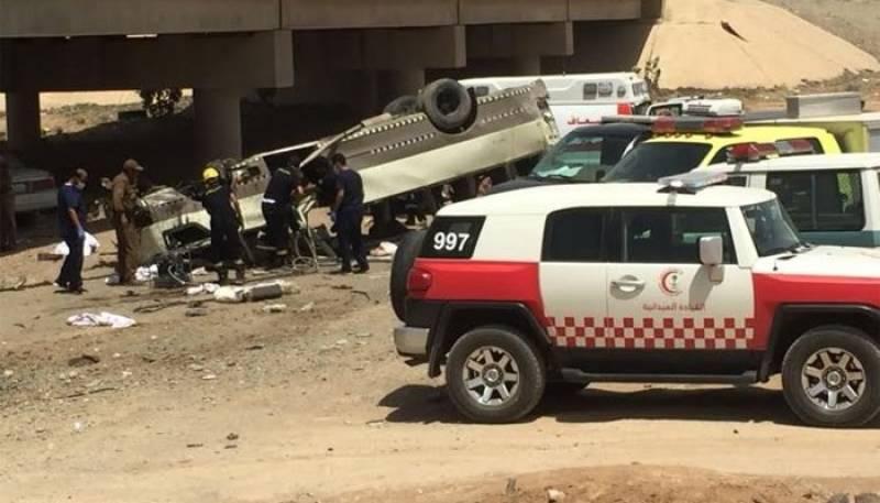 Nine pilgrims dead in road accident near Medina