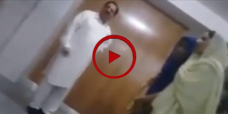 PAT's Khurram Nawaz Gandapur yells at female hostelites (VIDEO)
