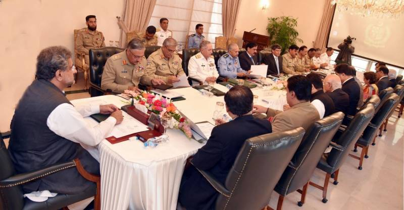 PM Abbasi convenes National Security Committee meeting today